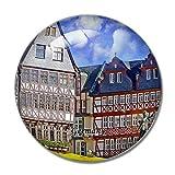 'N/A' Germania Magnete Germania Romer Square Francoforte 3D Magnete per Frigorifero Artigianato Souvenir Magneti per Frigorifero in Cristallo Collezione Regalo da Viaggio