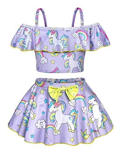 Bañador Unicornio Niña  marca WonderBabe