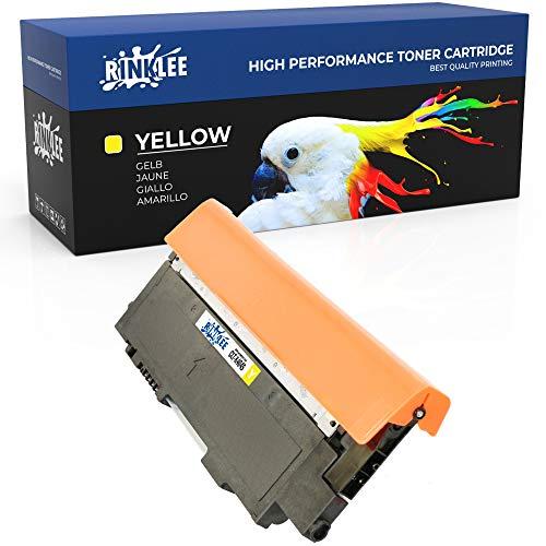 RINKLEE CLT-Y404S Cartuccia Toner Compatibile per Samsung Xpress SL-C430 SL-C430W SL-C480 SL-C480FN SL-C480FW SL-C480W   Alta Capacità 1000 Pagine   GIALLO