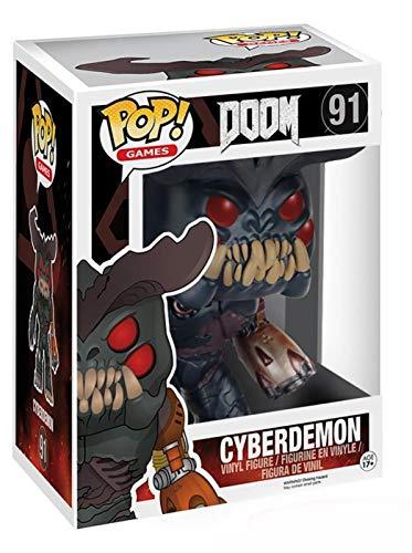 Funko 7940 Doom 7940 6 Inch POP Vinyl Cyberdemon Figure
