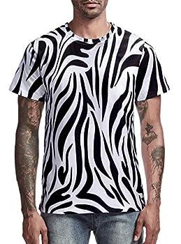 Best zebra shirt mens Reviews