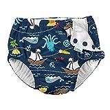 i Play Boys Swim Diaper Navy Pirate Ship-24 Months
