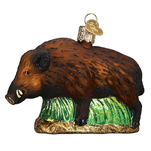 Price comparison product image Old World Christmas Glass Blown Ornament Wild Boar (12500)