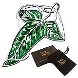 The Noble Collection El señor de los anillos: Broche de hojas L√≥rien