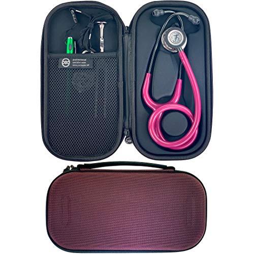 Pod Technical Classicpod - Custodia per stetoscopio per stetoscopi Littmann Classic, colore: Bordeaux