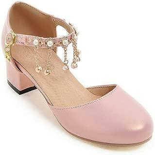 BalaMasa Womens ASL06943 Pu Heeled Sandals
