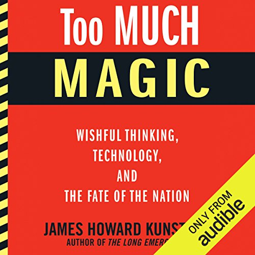 Too Much Magic audiobook cover art