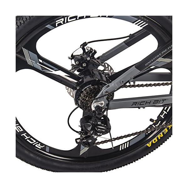 510LfBPpdsL. SS600  - RICH BIT RT-860 36V 250W 12,8 Ah klappbares Elektrofahrrad Vollgefedertes City Bike Elek