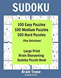 Sudoku Brain Tease by Angel Ferrier: 100 Easy Puzzles, 100 M