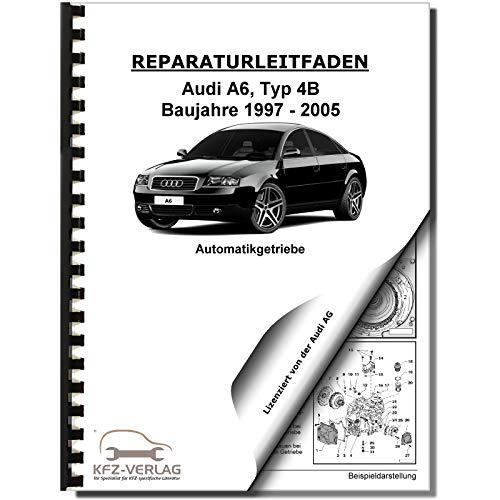 Audi A6 Typ 4B (97-05) 01J Multitronic Getriebe Frontantrieb Reparaturanleitung