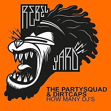 How Many DJ's