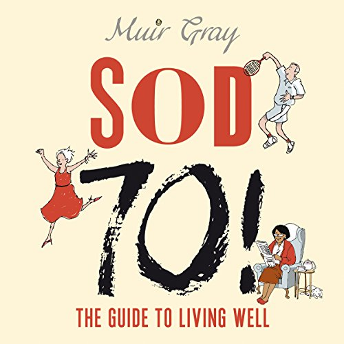 Sod 70! audiobook cover art