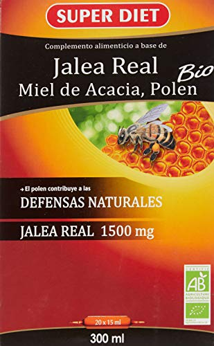 Superdiet Jalea Real Miel Polen20Amp Bio Superdiet 30 g