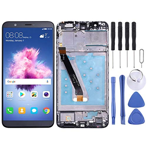 WJH Product - Pantalla LCD y digitalizador para Huawei P Smart (Enjoy 7S), Fig-LX1, Fig-LA1, Fig-LX2, Fig-LX3 (Color Negro)