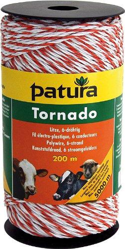 Weidezaun Litze Patura Tornado 400m 5x0,20 Niro plus 1x0,30 Cu