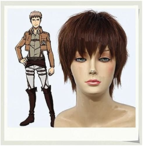 (Giant of New Theater, attack on titan) LUGANO ----  Attack on Titan  Huber wind costume cosplay wig + wig net (japan import)