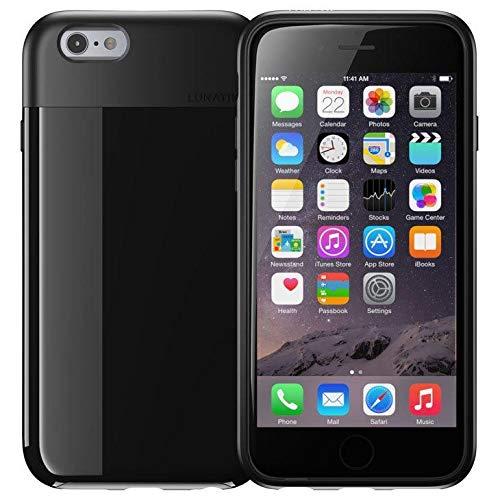 LUNATIK Funda con Tapa para iPhone 6 Plus - Negro