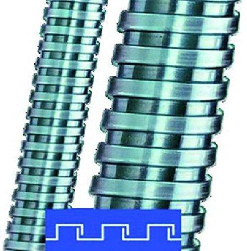 Flexa Metallschutzschlauch SPR-AS AD14/10m Stahl,vz,VDE SPR-AS Metall-Schutzschlauch 4025113116376