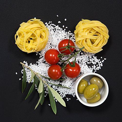 Eurographics, Glas, DG-UWE2116 Cucina ITA.Pomodori E Spaghetti I 20x20 Glasbild, 20 x 20 x 1.7 cm