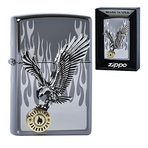 Zippo IN TO THE FLAME NI Lighters メイドインアメリカの韓国版 [並行輸入品]