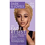Permanent Hair Color by Dark and Lovely Fade Resist I Up to 100% Gray Coverage Hair Dye I Light Golden Blonde 384 I...