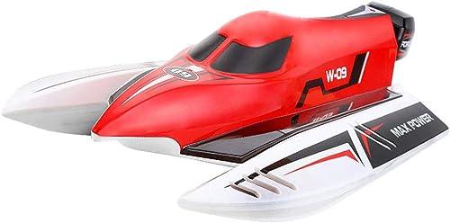 Sin impuestos AXJJ RC Barco Piscinas Mando a a a Distancia y Velocidad de 2,4 GHz Lagos 45 kmh a 180 Grados, Voltear RC Racing Barco de la lancha de Adultos de los Niños  tienda hace compras y ventas