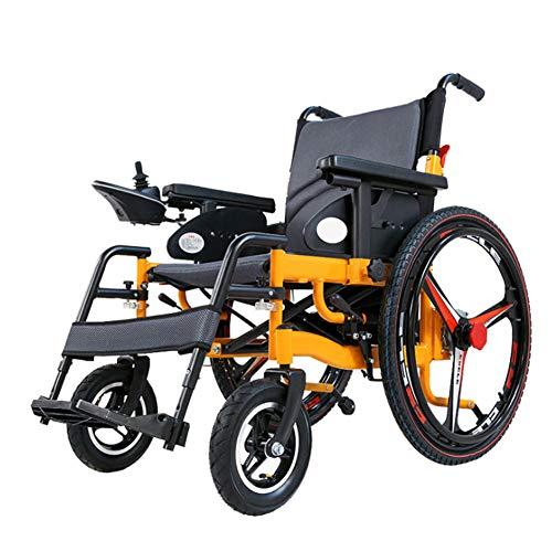 Elektrische rolstoel gemakkelijk opvouwbaar intelligent compleet automatisch 4 wielen elektrische rolstoel voor ouderwetse man uitgeschakeld draagbaar