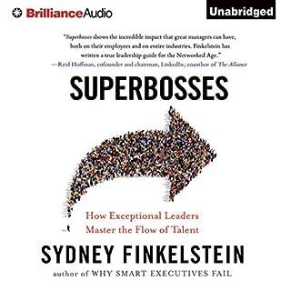 Superbosses audiobook cover art