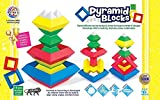 Pyramid block games for kids. This game helps children to understand shapes and their correlation with each other. This game makes children think about new structure every time they play with it Enhances eye-hand coordination and fine motor ability i...