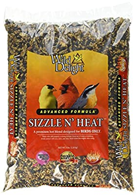 Wild Delight Sizzle N' Heat Bird Food
