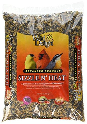 Wild Delight Sizzle N' Heat Bird Food, 5 lb