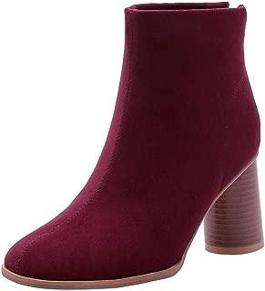 BalaMasa Womens ABS13952 Pu Boots