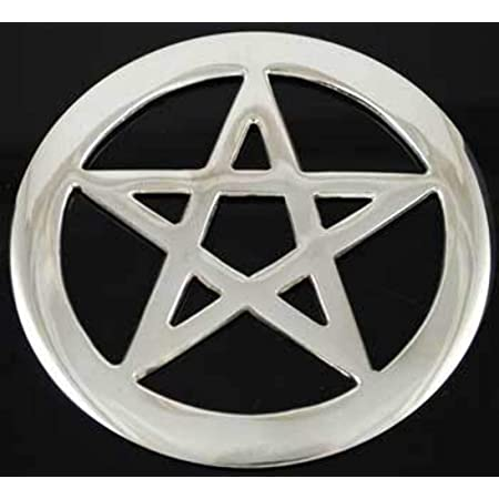 diollo Soapstone Pentagram Altar Tile 3