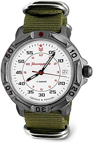 VOSTOK | Men's Komandirskie Commander Russian Army | 171 Series Military Style Mechanical Watch
