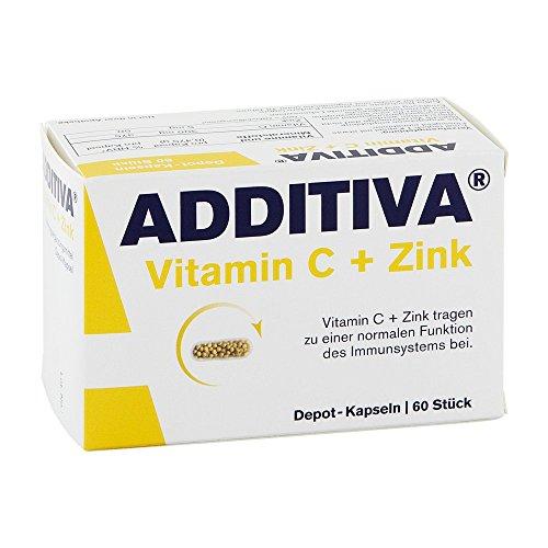 ADDITIVA Vitamin C Depot 300 60 St Kapseln