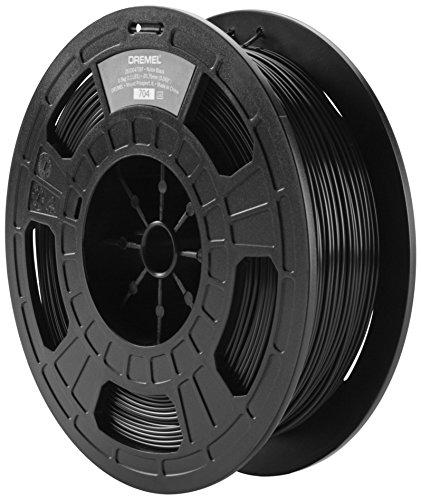 Dremel 3D Drucker (Nylon Filament 1,75 mm, Zubehör für DigiLab 3D45 3D-Drucker, mit RFID Material Erkennung Chip) schwarz