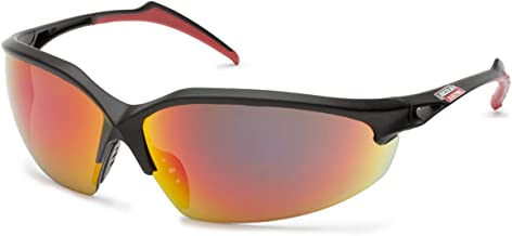 Lincoln Electric Premium Outdoor Safety Glasses | Reflective Mirror Lens | Anti Scratch | Rubber Overmolded Frame | K2970-1