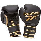 Reebok Guantes de boxeo-14oz-Oro/Negro, Unisex-Adult, Oro/Negro, 14 oz