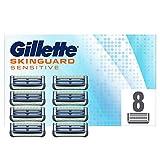 Gillette Skinguard para hombre, para pieles sensibles, paquete de 8 cuchillas