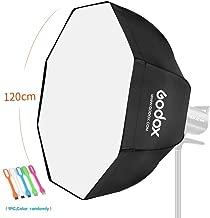Godox UBW 47inches/ 120cm Octagon Umbrella with Softbox Bowens Mount Ring for Studio Strobe Speedlite Flash