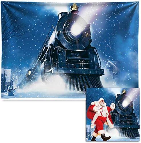 Polar express photo backdrop
