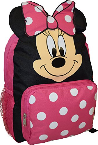 Minnie Mouse Big Face 14' School Bag Backpack