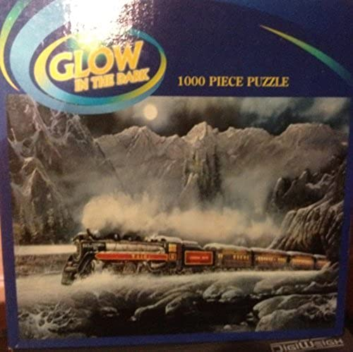 Glow IN THE DARK 1000 Pieces Puzzle by Puzzle Makers by Puzzle Makers