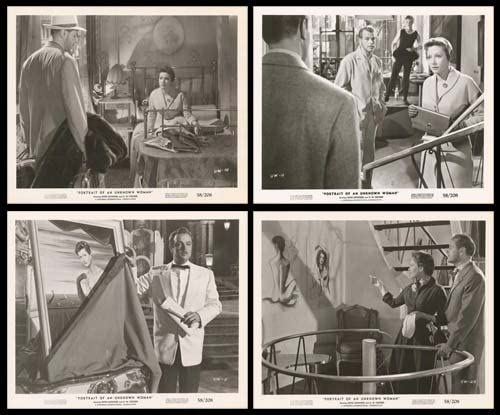 Portrait Of An Unknown Woman - Original 10x8 Movie Authentic New products world's highest quality New Shipping Free Shipping popular Set