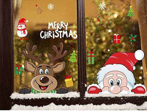 crazy bean Navidad Fiesta DIY Decoración Etiqueta de la Ven