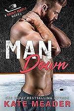 Man Down: A Widower Hockey Romance (A Rookie Rebels Novel)