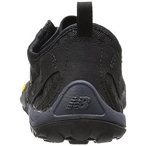 New Balance Men's Minimus 10 V1 Trail Running Shoe, Black/Silver, 11.5