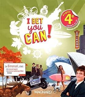Anglais 4e cycle 4 A2>B1 I bet you can!