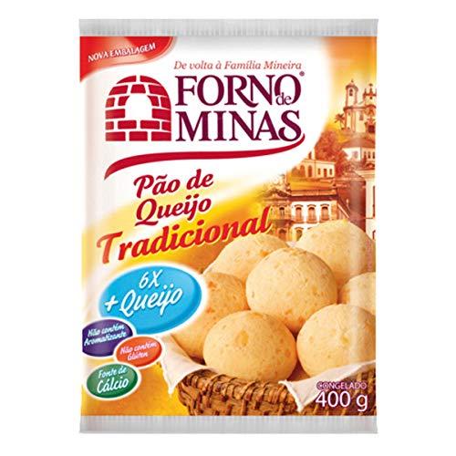 Pao De Queijo Congelado 4 Pack (400gr Each) - Frozen Cheese Bread - FORNO DE MINAS