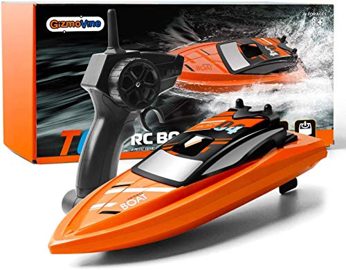 GizmoVine Remote Control Boat 2.4Ghz RC Boat Electric Racing Boat 4 Channel...